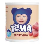 Пюре мясное ТЕМА телятина с 6+ месяцев, 100г