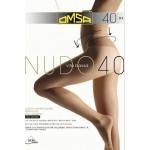 Колготки женские OMSA Nudo Vita Bassa Nero 3, 40 den