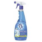 Средство для мытья стекол RIO ROYAL универсальное 4 в 1, 750 мл