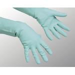Перчатки хозяйственные VILEDA многоцелевые зеленые, размер М
