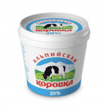 Сметанный продукт АЛЬПИЙСКАЯ КОРОВКА 20%, 5кг