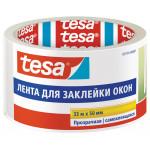 Лента для заклейки окон TESA прозрачная, 33мх50мм