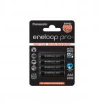 Аккумуляторы PANASONIC Eneloop Pro AAA 930mAh, 4 шт