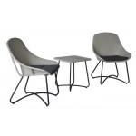 Набор мебели ротанг/сталь