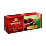 Чай МАЙСКИЙ черный отборный, 25х2 г