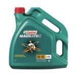 Моторное масло синтетическое CASTROL MAGNATEC 5W-40, 4л