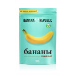 Бананы сушеные BANANA REPUBLIC, 200 г