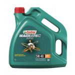 Моторное масло синтетическое CASTROL MAGNATEC Diesel 5W-40, 4л + 1л