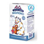 Молоко БЕЛЫЙ ГОРОД ультрапастеризованное 2,5%, 1 л