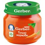 Пюре GERBER Морковь, 80 г