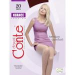 Колготки женские CONTE Nuance Nero 2, 20den