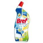 Гель для чистки унитаза BREF WC Total Чистота и Блеск Лимон и лайм, 700мл