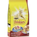 Корм для кошек FRISKIES с мясом, 2кг