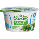 Йогуртная заправка DANONE Bio Баланс базилик/петрушка/укроп, 140 г