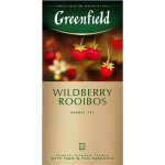 Чай травяной GREENFIELD Wildberry Rooibos в пакетиках, 25х1.5 г