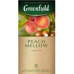 Чай зеленый GREENFIELD Peach Mellow, 25х1.8 г