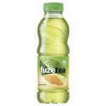 Чай холодный FUZETEA зеленый Цитрус в упаковке, 12х0,5л