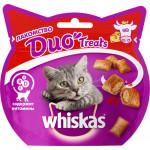 Лакомство для кошек WHISKAS Duo Treats, 8х40 г