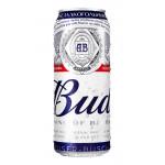 Пивной напиток безалкогольный BUD железная банка в упаковке, 6х0,45л