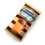 Мороженое пломбир ВОЛОГОДСКИЙ Шоколад 15% вафельный стаканчик, 100г