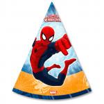 Колпаки на голову MARVEL Человек-паук в упаковке, 6шт