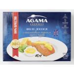 Филе лосося AGAMA с сырным соусом Чеддер свежемороженое, 250г