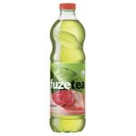 Чай холодный FUZETEA зеленый Клубника-Малина в упаковке, 6х1,5л