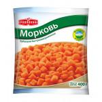 Морковь резаная PODRAVKA кубики, 400г