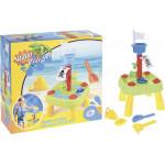 Игровой набор для песка ZEBRATOYS, 20 предметов