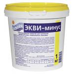 Средство для бассейна ЭКВИ-МИНУС для понижения pH воды порошок ведро, 1кг