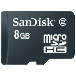 Карта памяти micro SDHC Mobile 8GB