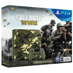 4 1Тб (CUH-2108B) Limited edition + Call Of Duty World War II Игровая консоль
