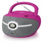 BX195U Pink Радиомагнитола CD