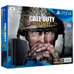 4 1Тб (CUH-2108B) + Call Of Duty World War II Игровая консоль