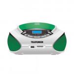 TF-CSRP3492B Green/White Радиомагнитола CD