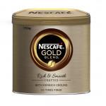 Кофе растворимый сублимированный NESCAFE GOLD в железной банке, 750г