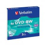 43635 x3 DVD-RW набор дисков
