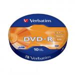 43729 x10 DVD-R набор дисков