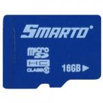 Карта памяти micro SDHC 16GB Class 10 SMTMSD-01610R