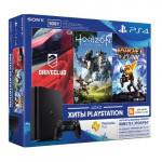 4 500 Гб (CUH-2108A) + DriveClub + Horizon Zero Dawn + Ratchet Clank + PlayStation Plus 3 месяца Игровая консоль