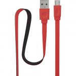 IS-DC-CMICRFTRD-100B202 Black/Red Кабель USB - microUSB