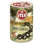 Маслины черные ITLV резаные, 314мл