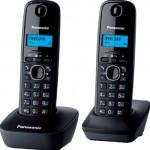 KX-TG1612RUH Grey Телефон беспроводной DECT