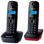 KX-TG1612RU3 Grey/Red Телефон беспроводной DECT