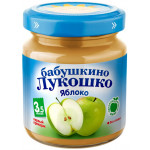 Пюре БАБУШКИНО ЛУКОШКО Яблоко, 100г