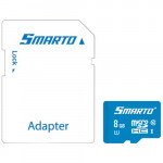 Карта памяти micro SDHC 8GB Class 10 UHS-I SMTMSD-008U1RA