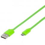 35818 Green Кабель USB - microUSB