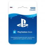 PlayStation Store 1000 рублей | Карта оплаты для PlayStation