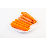Морковь мытая (пакет), 1 кг