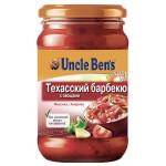 Соус UNCLE BENS Техасский барбекю с овощами, 210 г